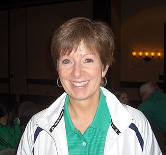 Muffet McGraw - McGraw at the 2011 Women's Basketball Coaches Association convention in Indianapolis