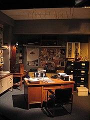 Le bureau de Fox Mulder