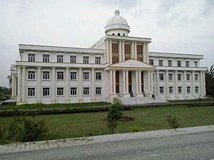 Mohammad Ali Jauhar University - The Mumtaz Central Library is one of the landmarks of the university.