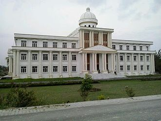 Mohammad Ali Jauhar University - The Mumtaz Central Library is one of the landmarks of the university.