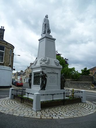 Andrew Currie (sculptor) - The Mungo Park Monument in Selkirk, Scotland by Andrew Currie