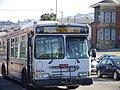 Muni route 26 bus at Balboa Park station, November 2009.jpg