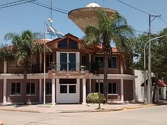 Malvinas Argentinas, Córdoba - Municipal building.