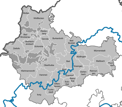 Municipalities in KG.svg