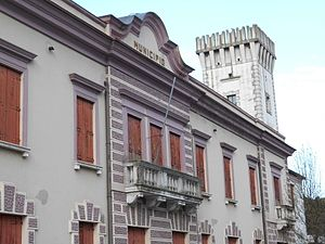Tribano - town hall