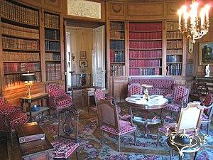 Musée Nissim de Camondo - Image: Musée Nissim de Camondo Library