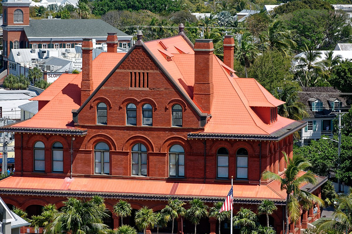 Old Post Office And Customshouse Key West Florida Wikipedia - Museums on us florida