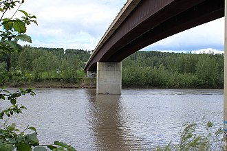 Fort Nelson, British Columbia - Muskwa River