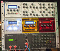 Mutable Instruments modular synthesizer - Shruthi XT with control panel, 3x Shruthi, MIDIpal, Anushri - Dinosauriertreffen 2 - 126.jpg