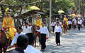 Myanmar Traditional novitiation march.JPG