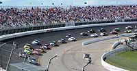 NASCAR Camping World Truck Series at Rockingham Speedway 2012.jpg