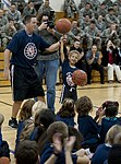 NBA Cares Hoops for Troops volunteers at Mountain Home Air Force Base, Idaho, Oct. 4, 2013.JPG