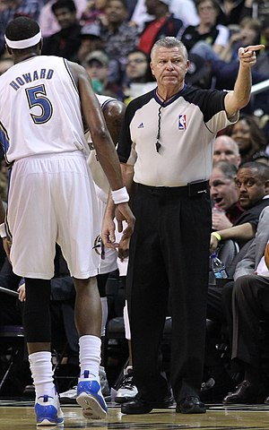 Bob Delaney (basketball referee) - Image: NBA referee Bob Delaney on February 28, 2011