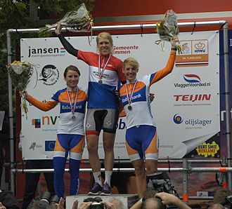 2012 Dutch National Time Trial Championships – Women's time trial - The podium
