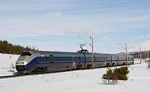 NSB Class 73 - Image: NSB Class 73 near Dombås 4