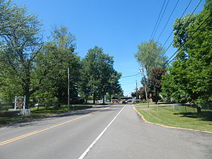 Getzville, New York - NY 270 through the hamlet of Getzville