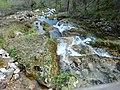 Nacimiento del Río Mundo-Agua y rocas.jpg