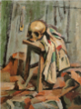 NakamuraTsune-1923--Still-Life with a Scull-2.png
