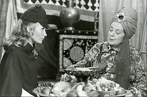 Elsa Lanchester - With Juliet Mills as a guest star on Nanny and the Professor (1971)