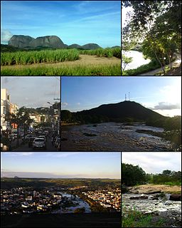 Nanuque Municipality in Southeast, Brazil