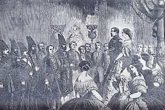 Kashan - Amin-o-Dowleh, Persian royal envoy to the court of Napoleon III.