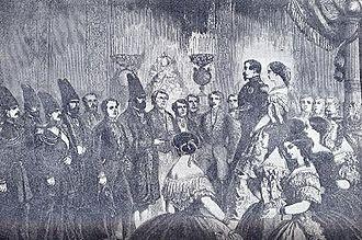 Kashan - Amin-o-Dowleh, Persian royal envoy to the court of Napoleon III.