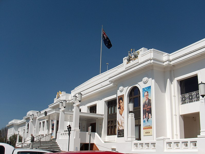 File:National Portrait Gallery at Old Parliament House.jpg