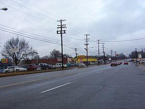 Nutbush, Memphis - National Street in Nutbush, Memphis (2008)