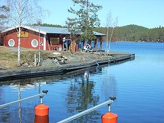 Naturum Sommen Nature center in Ydre, Sweden
