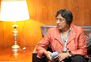 Non-resident Indian and person of Indian origin - Navanethem Pillay, an Indian South African descent who served as the U.N High Commissioner for Human Rights.