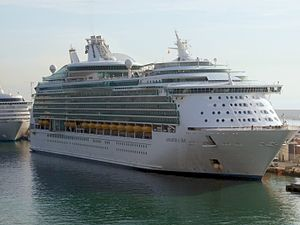 MS Navigator of the Seas - Image: Navigator of the Seas in Barcelona 2010