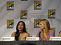 Naya Rivera & Heather Morris (4852931100).jpg