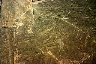 Nazca Condor Geoglyph