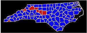 North Carolina gubernatorial election, 1980 - Image: Nc 80