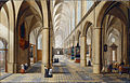 Neeffs, Peeter the elder - Interior of a Gothic Church - Google Art Project.jpg