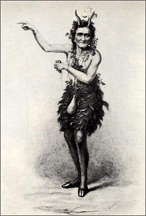 Daphnis et Chloé (Offenbach) - Johann Nestroy as Pan