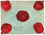 Netherlands 1932-1-21 money letter NVPH 193 SF reverse.jpg