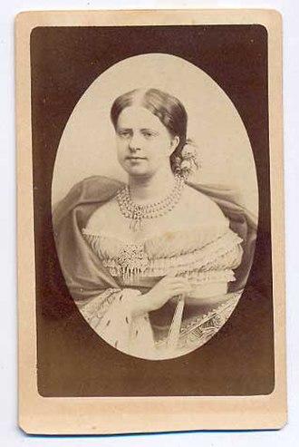 Princess Maria Clotilde of Savoy - Photograph by Etienne Neurdein