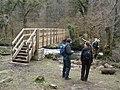 New footbridge, across the River Bovey - geograph.org.uk - 1195141.jpg