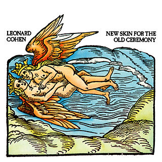 <i>New Skin for the Old Ceremony</i> 1974 studio album by Leonard Cohen