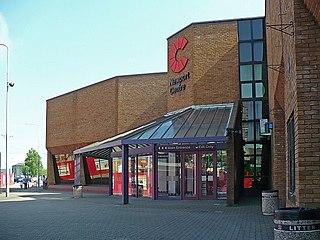 Newport Centre leisure centre in Newport, Wales
