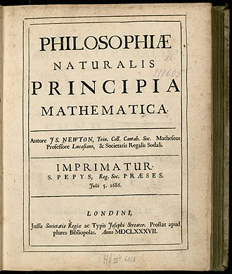 Cosmos: A Spacetime Odyssey - The first page of Isaac Newton's Philosophiæ Naturalis Principia Mathematica