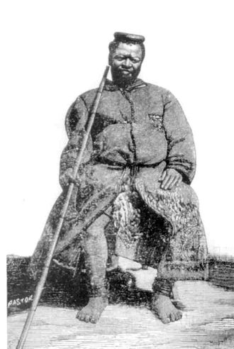 Soshangane - Chief Mdungazwe, grandson of Soshangane