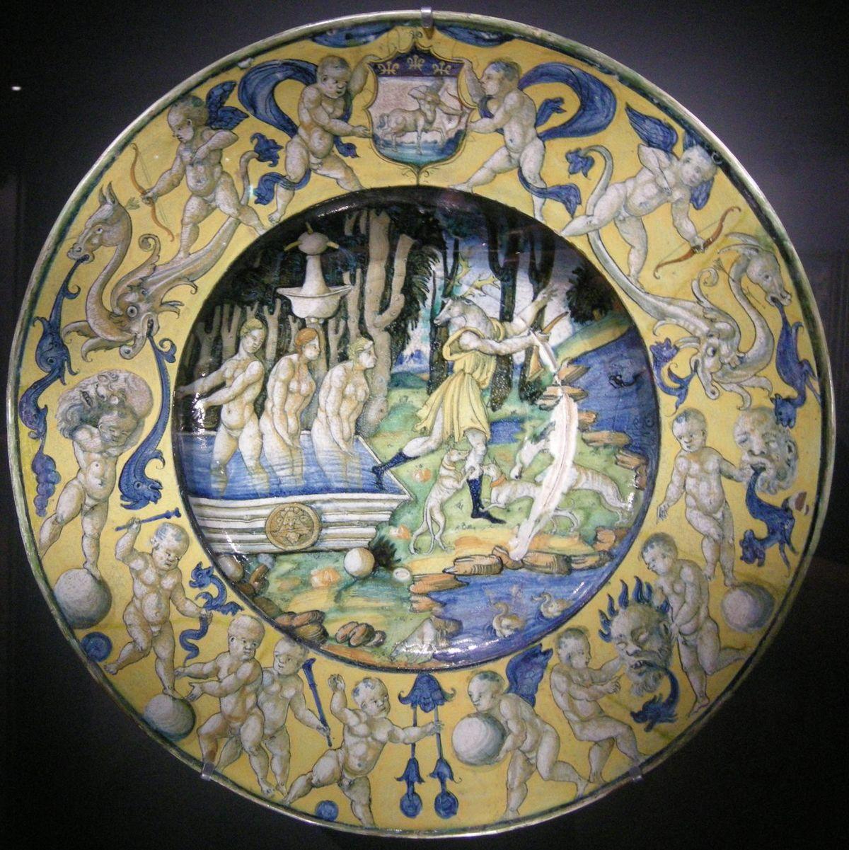 Museo Della Ceramica Di Deruta.Maiolica Di Deruta Wikipedia