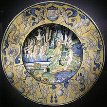 Maiolica Deruta Wikipedia