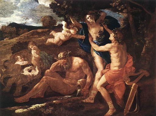 Nicolas Poussin - Apollo and Daphne - WGA18261