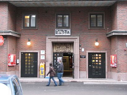 How to get to Tavastia Klubi with public transit - About the place