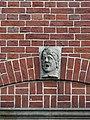 Nijmegen - Hoofd gemaakt door Egidius Everaerts op de gevel van Huis Heyendaal 03.jpg