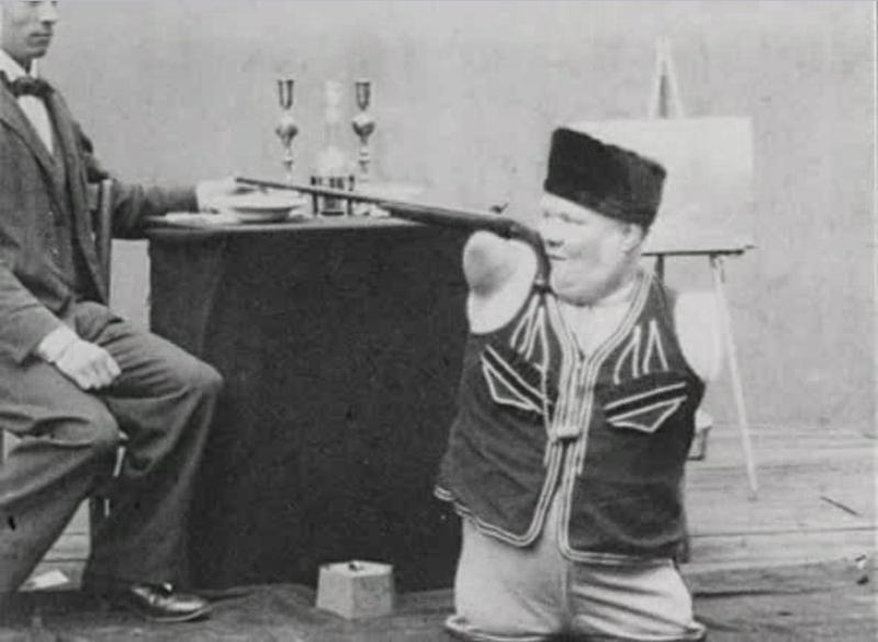 Кадр из фильма о Николае Кобелькове. 1900 г.