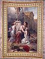 Niobé, ayant renversé les autels de Diane, est punie par Diane et Apollon.jpg